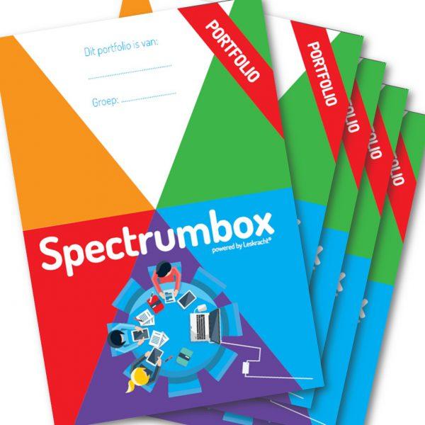 Spectrumbox portfoliomappen