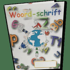 Woordschrift (set 30 stuks)