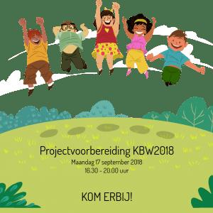 Projectvoorbereiding Kinderboekenweek 2018: KOM ERBIJ!