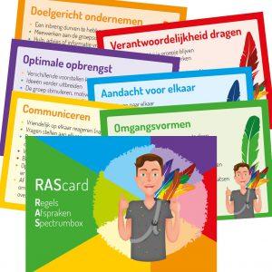 Beveiligd: RAScards (6 stuks)