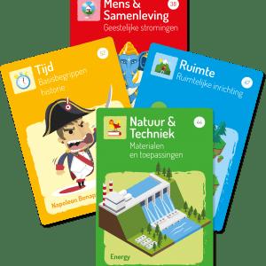 Beveiligd: Startcards (110stuks)