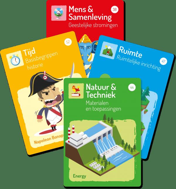Startcards voor alle WO domeinen