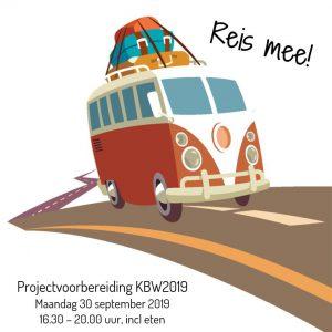 Projectvoorbereiding Kinderboekenweek 2019: Reis mee!