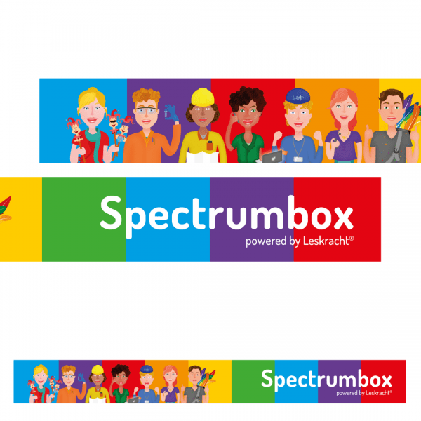 Kaststicker Spectrumbox personages