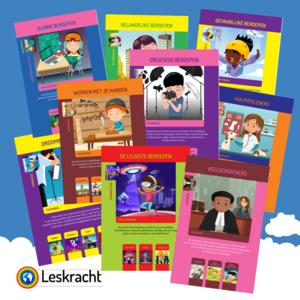 Fysiek materiaal Kinderboekenweek 'Worden wat je wil'